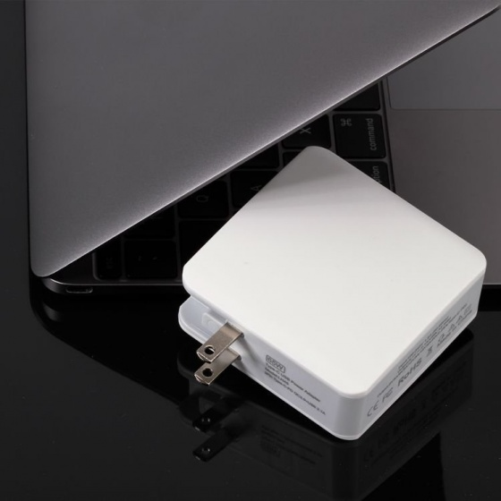 Bộ sạc Aturos LN 45 cho iPad, Macbook, Xiaomi laptop chuẩn PD và USB QC 3.0 68W 20.3V/3A