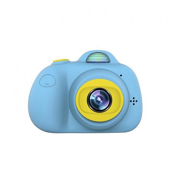 Máy chụp hình cho bé Promax D6 2 camera 8.0 MPX, Auto Focus, nhận dạng khuôn mặt (Màu xanh Blue) - Tặng thẻ nhớ 8GB