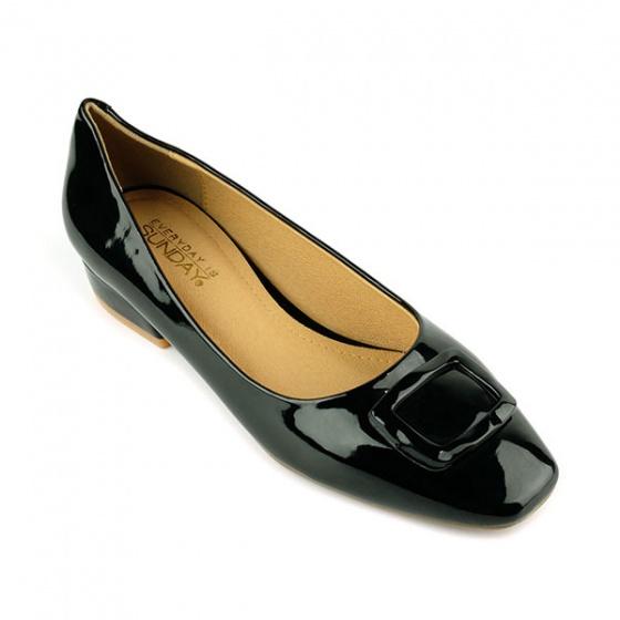 Giày búp bê êm chân Sunday BB33 màu đen