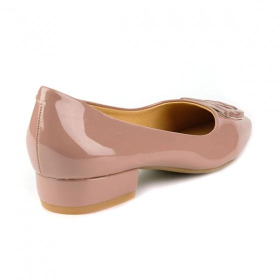 Giày búp bê êm chân Sunday BB33 màu ruốc