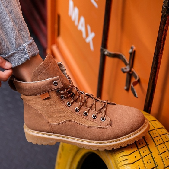 Giày boot nam Passo G212
