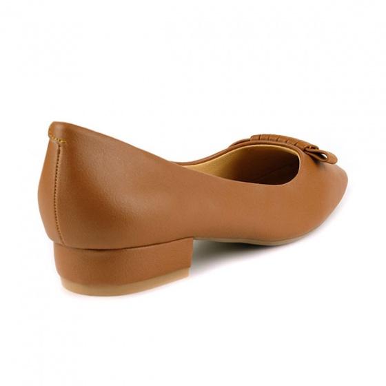 Giày búp bê êm chân Sunday BB34 màu nâu