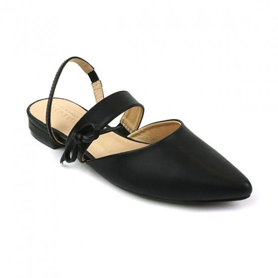 Giày búp bê êm chân Sunday BB28 màu đen
