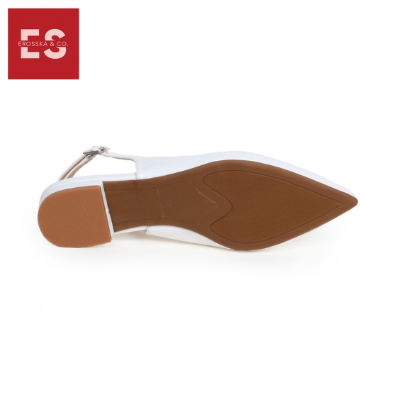 Giày nữ, giày cao gót slingback Erosska mũi nhọn cao 2cm thời trang kiểu dáng basic - EL001 (NU)