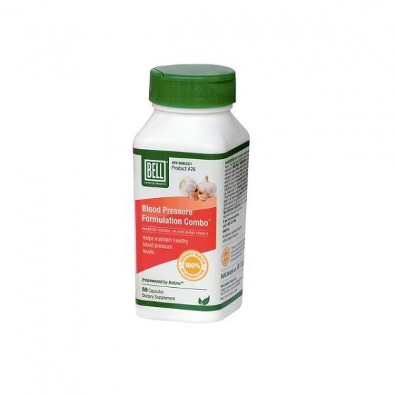 Một hộp viên uống kiểm soát tăng huyết áp và điều hoà cholesterol - Blood Pressure 60 viên/hộp