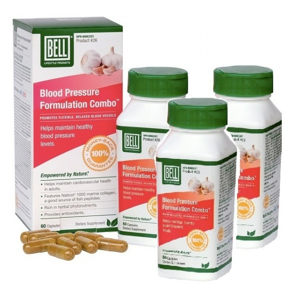 Combo 02 hộp viên uống kiểm soát tăng huyết áp và điều hoà cholesterol - Blood Pressure 60 viên/hộp tặng 01 hộp cùng loại