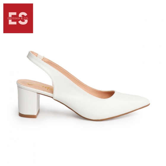 Giày nữ, giày cao gót slingback erosska thời trang nữ kiểu dáng basic _ EH015 (BA)