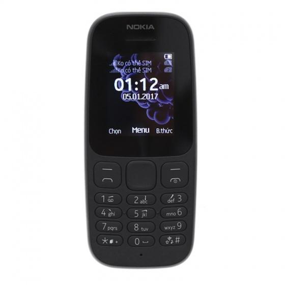 Điện thoại Nokia 105 1 sim - Hàng chính hãng - Bảo hành 12 tháng