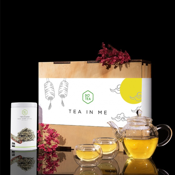 Bộ quà tặng trà xanh shan tuyết Dotea
