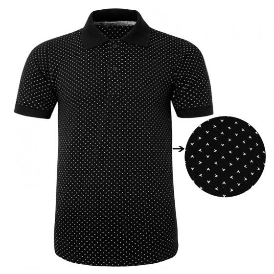 Bộ 3 áo thun nam cổ bẻ họa tiết ô vuông chuẩn mọi phong cách Pigofashion AHT19 xanh đen, trắng, đen