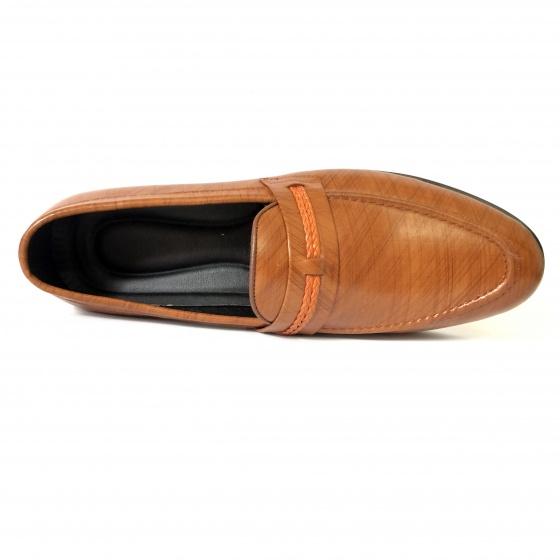 Giày lười nam da bò thật DO4 - Geleli