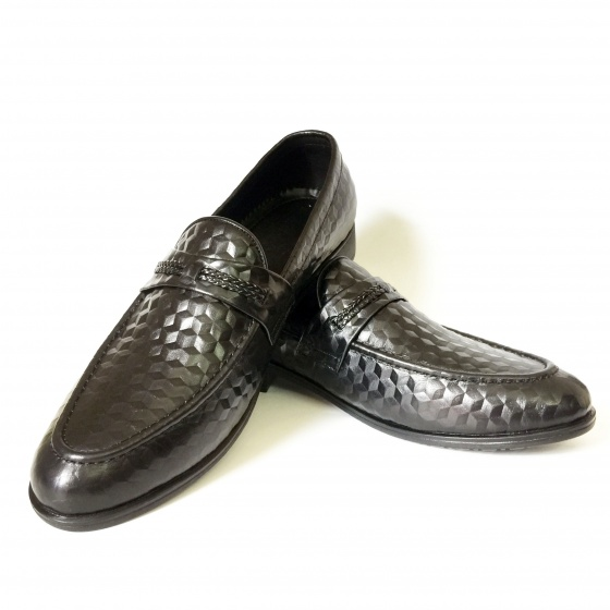 Giày lười công sở da bò thật DO5 Geleli