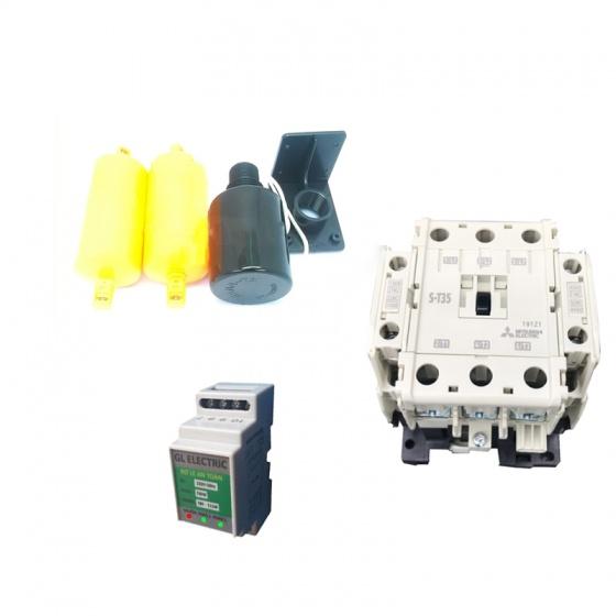Combo khởi đọng từ tự động 40A an toàn cho máy bơm nước, phao Wangta