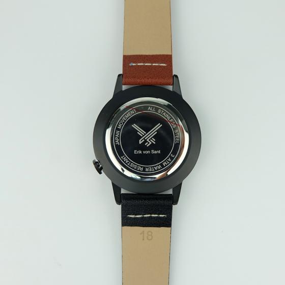 Đồng hồ thời trang unisex Erik von Sant 003.001.D