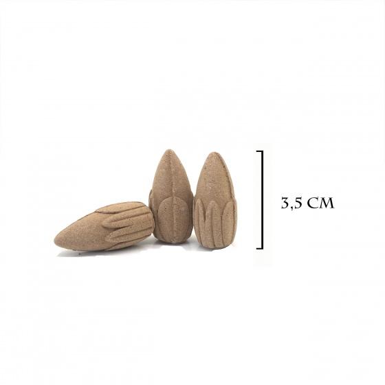 Chú tiểu tọa diệp liên + 1 hộp nụ búp sen trầm hương 25 viên 150.000đ