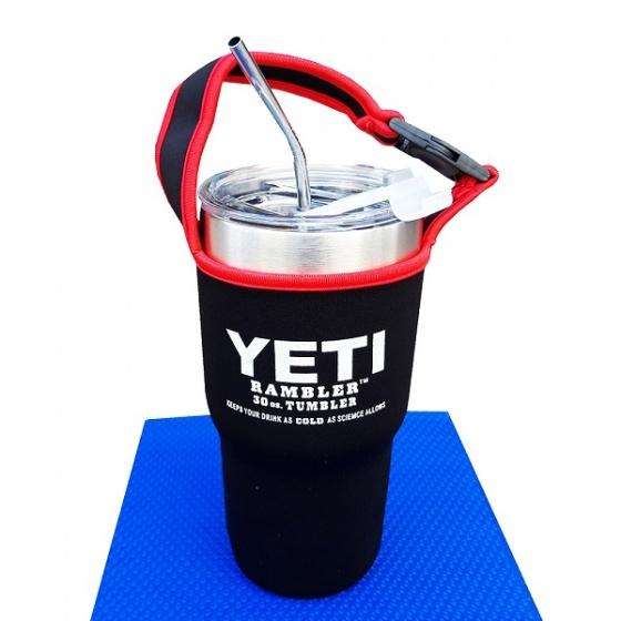 Ly giữ nhiệt cao cấp Yeti tặng kèm phụ kiện