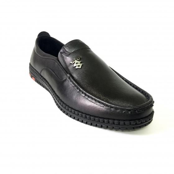 Giày lười nam da bò thật GM42 Geleli