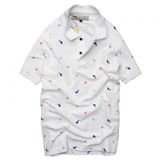 Bộ 3 áo thun nam cổ bẻ họa tiết biển xanh chuẩn mọi phong cách Pigofashion cao cấp AHT20 xanh đen, trắng, đỏ