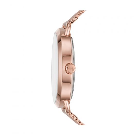Đồng hồ nữ chính hãng Michael Kors MK3845 bảo hành toàn cầu - Máy pin dây thép không gỉ