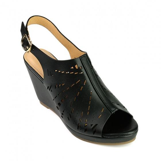 Giày đế xuồng êm chân Sunday DX15 màu đen