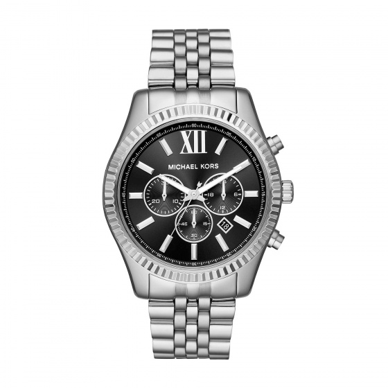 Đồng hồ nam chính hãng Michael Kors MK8602 bảo hành toàn cầu - Máy pin dây thép không gỉ
