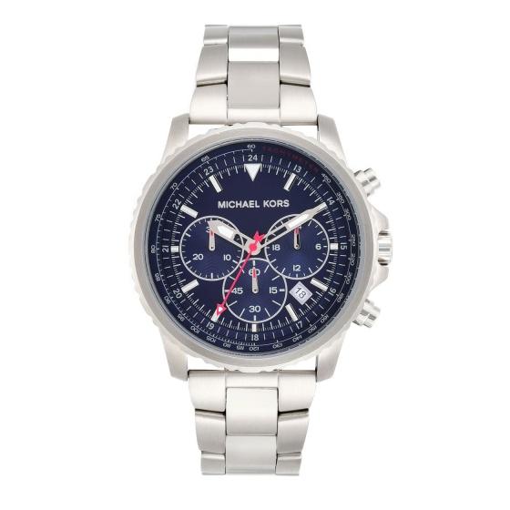 Đồng hồ nam chính hãng Michael Kors MK8641 bảo hành toàn cầu - Máy pin dây thép không gỉ