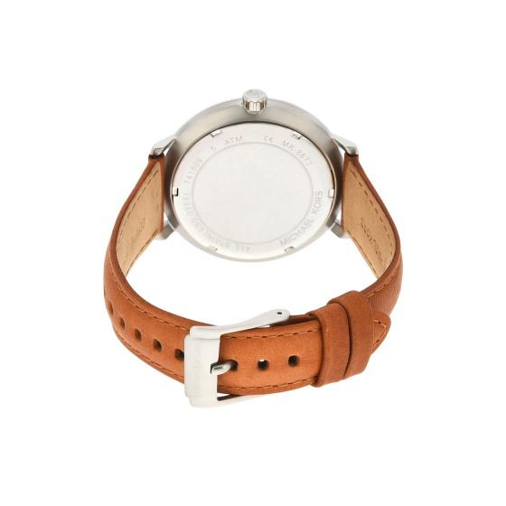 Đồng hồ nam chính hãng Michael Kors MK8673 bảo hành toàn cầu - Máy pin dây da tổng hợp