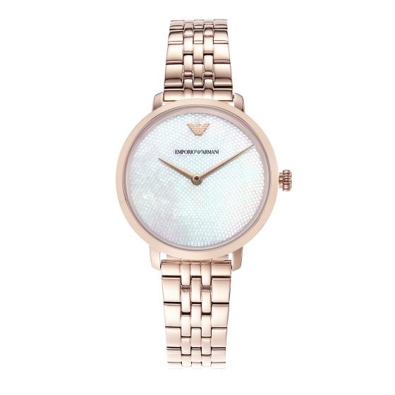 Đồng hồ nữ chính hãng Emporio Armani AR11158 bảo hành toàn cầu - Máy pin dây thép không gỉ