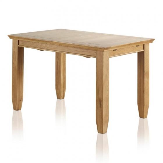Bàn ăn 4 chỗ Holy gỗ sồi 1m2 (120x75cm) - Cozino