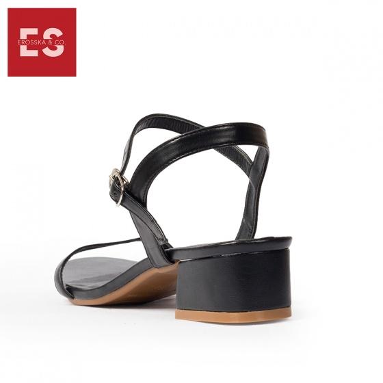 Giày nữ, giày sandal nữ gót vuông Erosska EB003 cao 3 cm quai mảnh thời trang (NU)