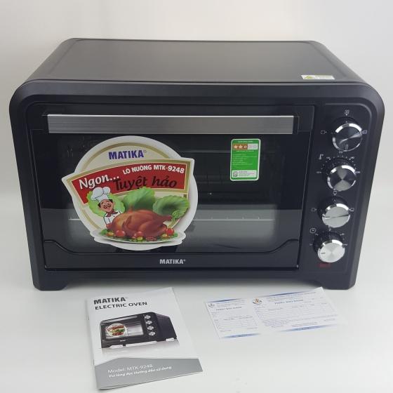 Lò nướng cao cấp Electric Oven Matika MTK-9248