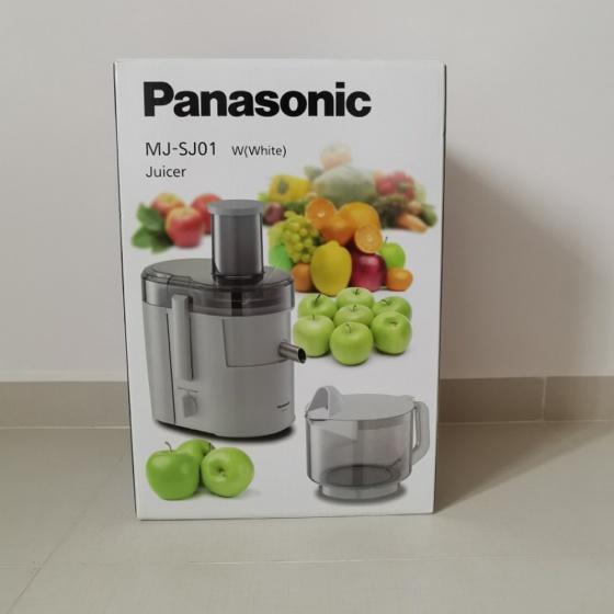 Máy ép trái cây Panasonic MJ-SJ01WRA hãng phân phối