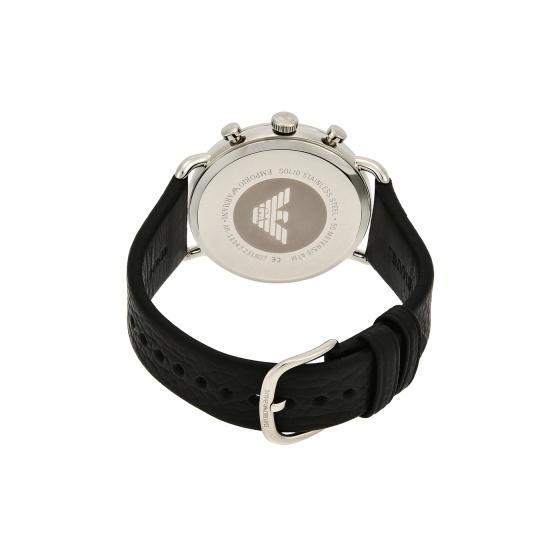 Đồng hồ nam chính hãng Emporio Armani AR11143 bảo hành toàn cầu - Máy pin dây da tổng hợp