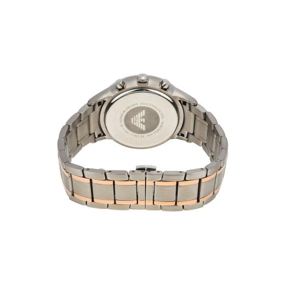 Đồng hồ nam chính hãng Emporio Armani AR11165 bảo hành toàn cầu - Máy pin dây thép không gỉ