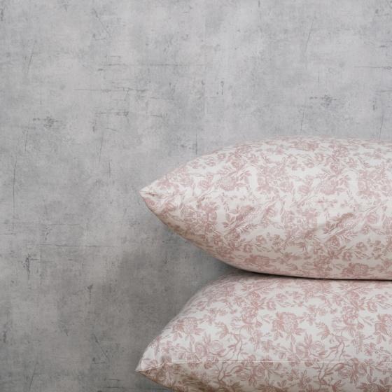 Bộ chăn drap cotton satin Hàn Quốc 5 món Lux. Pattern 03 1m8x2m