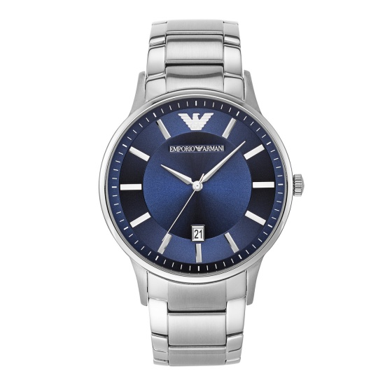 Đồng hồ nam chính hãng Emporio Armani AR11180 bảo hành toàn cầu - Máy pin dây thép không gỉ