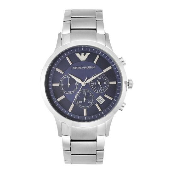 Đồng hồ nam chính hãng Emporio Armani AR2448 bảo hành toàn cầu - Máy pin dây thép không gỉ