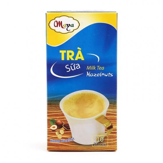 Combo 2 hộp trà sữa Maya Hazelnut (hạt dẻ) + quà tặng