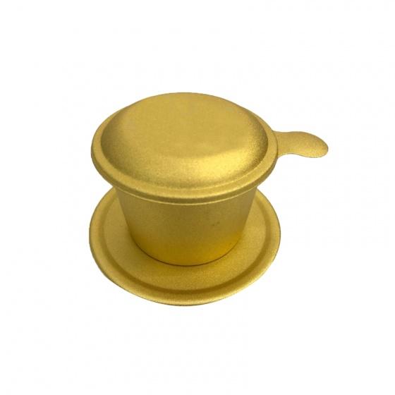 Combo cà phê hạt rang (2 kg) + bột kem pha cà phê (4 hộp x 170g) + 4 phin cà phê cao cấp