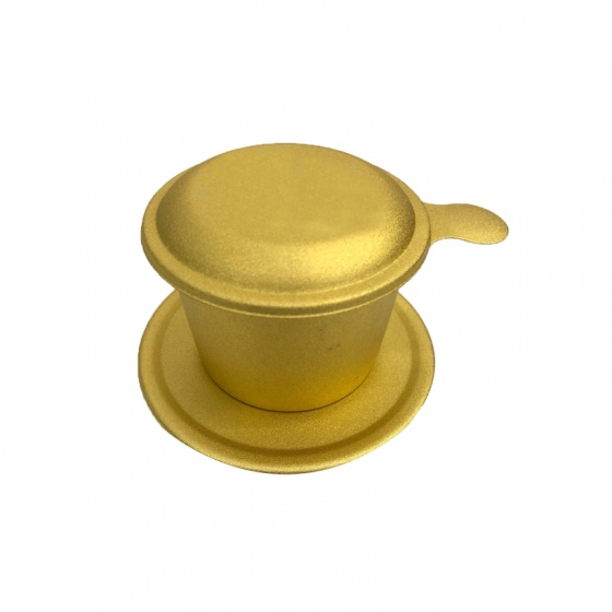 Combo cà phê hạt rang Moka + bột kem pha cà phê + phin cà phê cao cấp