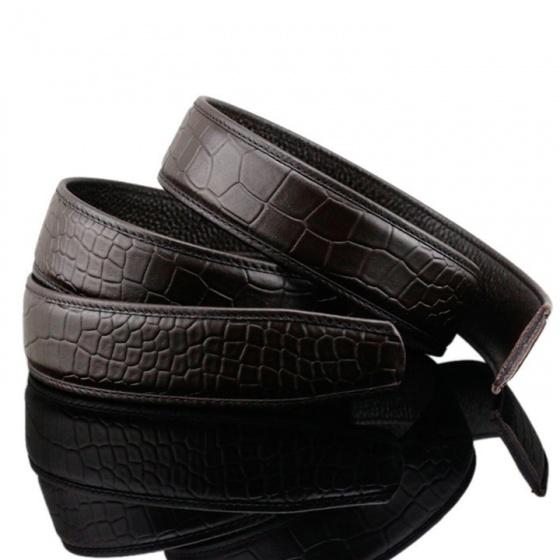 Dây thắt lưng da bò cao cấp Sam Leather SDNDN006 - dây nịt da bò không mặt khóa chính hãng bảo hành 1 năm