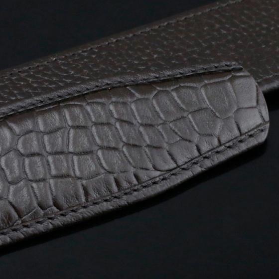 Dây thắt lưng da bò cao cấp - dây nịt da bò không mặt khóa Sam Leather SDNDN006