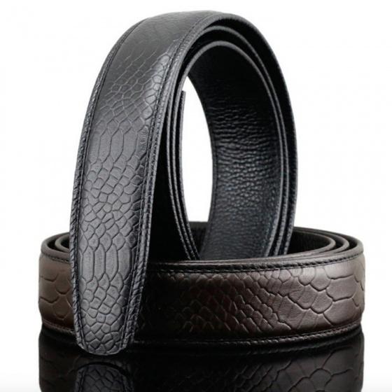 Dây thắt lưng da bò cao cấp - dây nịt da bò không mặt khóa Sam Leather SDNDN009