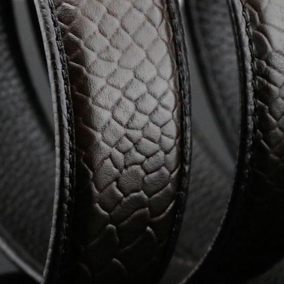Dây thắt lưng da bò cao cấp Sam Leather SDNDN010 - dây nịt da bò không mặt khóa chính hãng bảo hành 1 năm