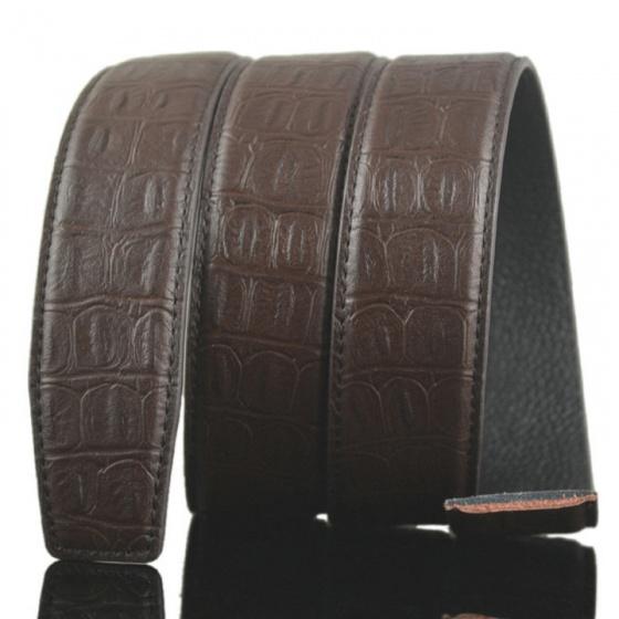 Dây thắt lưng da bò cao cấp - dây nịt da bò không mặt khóa Sam Leather SDNDN012