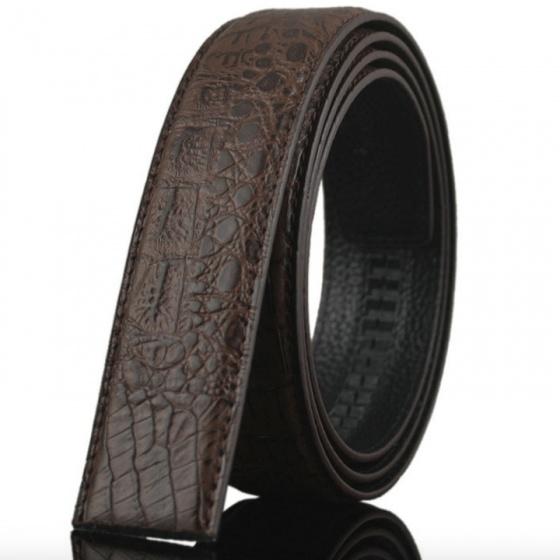 Dây thắt lưng da bò cao cấp - dây nịt da bò không mặt khóa Sam Leather SDNDN014