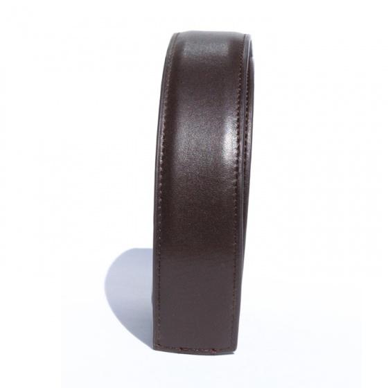 Dây thắt lưng da bò cao cấp - dây nịt da bò không mặt khóa Sam Leather SDNSX002