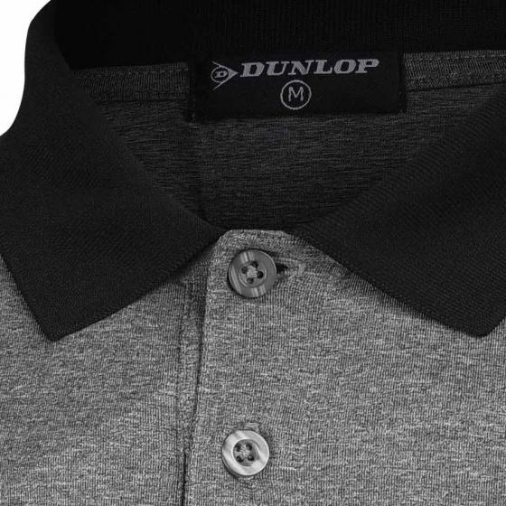 Áo thun thể thao Tennis nam Dunlop - DATES9072-1C-GY (Xám)