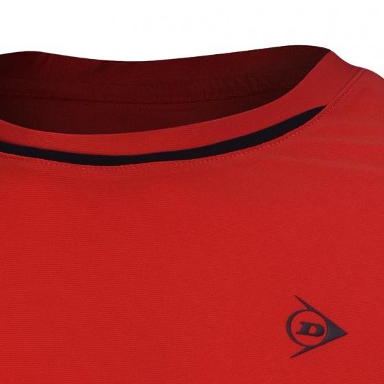 Áo thể thao Tennis nam Dunlop - DATES9096-1-RD (đỏ)