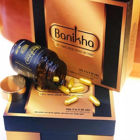 Viên nang đông trùng hạ thảo Banikha - món quà cho sức khỏe
